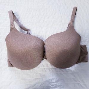 "CACIQUE Size 38DD Nude/Tan ""True Embrace T-Shirt"""
